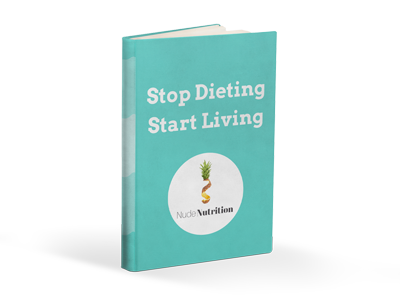 e-book stop dieting