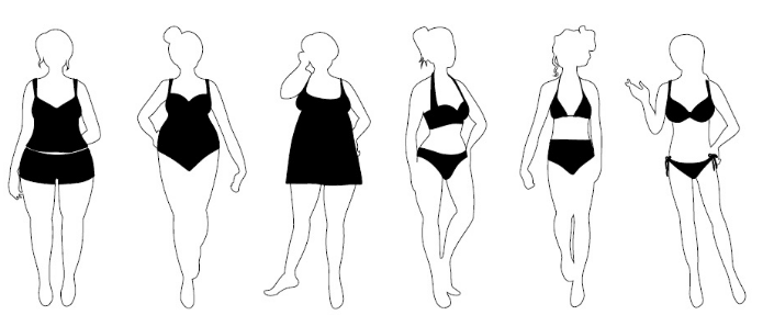 Body Shapes and Sizes