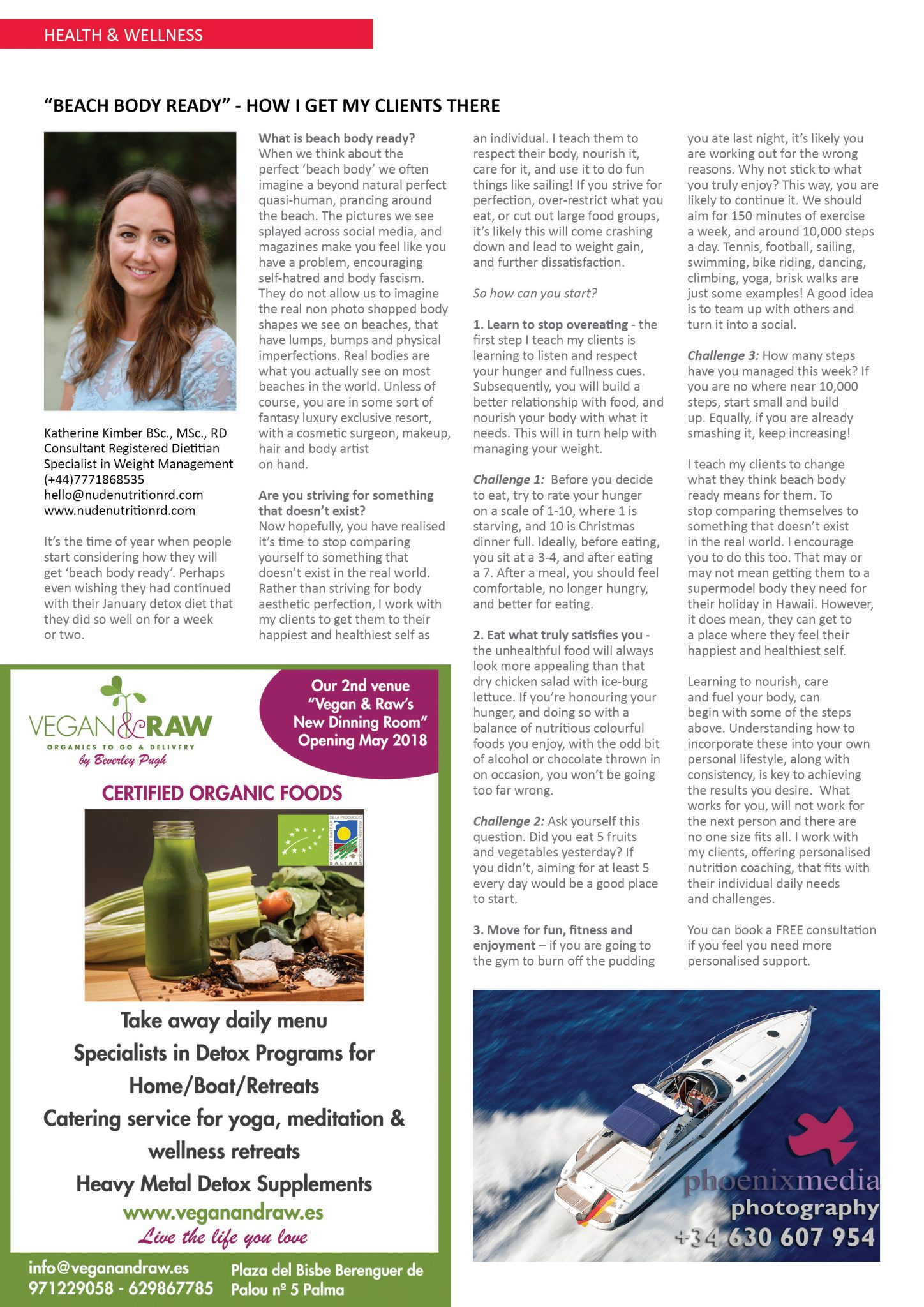 The Islander Magazine, Beach Body Ready