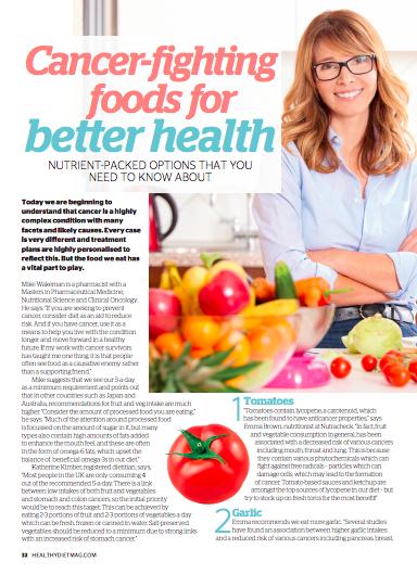 Healthy Diet Magazine, Katherine Kimber