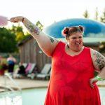 Plus Size Happy lady | Nude Nutrition